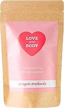 """Profumi e cosmetici Scrub corpo al caffè """"Fragola succosa"""" - Love Your Body Peeling"""