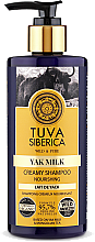 Profumi e cosmetici Crema shampoo nutriente - Natura Siberica Tuva Siberica Yak Milk Nourishing Bio Cream-Shampoo