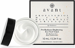 Profumi e cosmetici Crema contorno occhi antietà - Avant Skincare Pro-Radiance Brightening Eye Final Touch