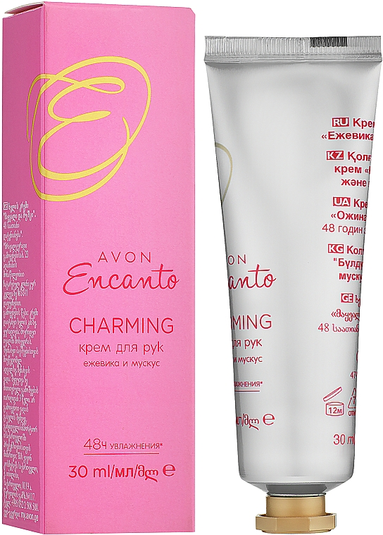 Avon Encanto Charming - Crema mani — foto N1
