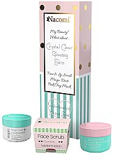 Profumi e cosmetici Set - Nacomi Home Spa (f/mask/50ml + f/lip/scr/80g + f/powder/20g)