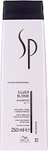 Profumi e cosmetici Shampoo per capelli biondi - Wella SP Silver Blond Shampoo