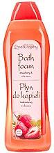 """Profumi e cosmetici Bagnoschiuma """"Fragola e aloe"""" - Bluxcosmetics Naturaphy Strawberry & Aloe Vera Bath Foam"""