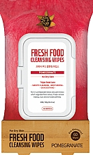 """Profumi e cosmetici Salviette detergenti viso """"Melograno"""" - Superfood For Skin Fresh Food Facial Cleansing Wipes"""