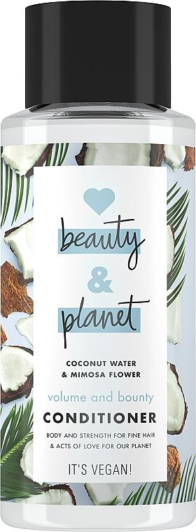 """Condizionante per capelli """"Volume e generosità"""" - Love Beauty&Planet Beauty And Bounty Conditioner — foto N1"""
