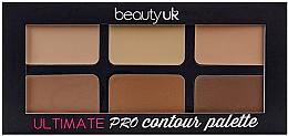 Profumi e cosmetici Palette per il contouring del viso - Beauty UK Ultimate PRO Contour Palette