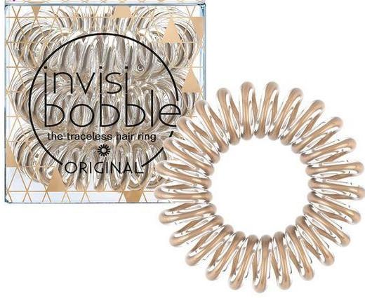 Elastici a spirale per capelli - Invisibobble Original Bronze Me Pretty