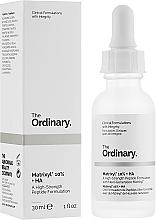Profumi e cosmetici Siero con peptidi e acido ialuronico - The Ordinary Matrixyl 10% + HA