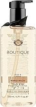 """Profumi e cosmetici Sapone liquido per mani """"Oud e ribes nero"""" - Grace Cole Boutique Oud & Cassis Hand Wash"""