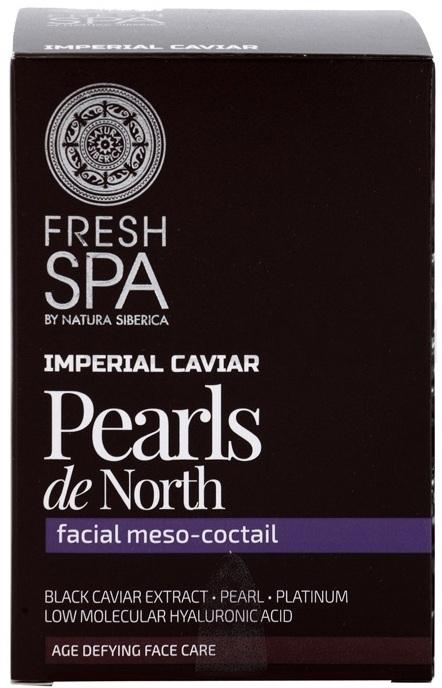 "Cocktail per viso ""Perle del Nord"" - Natura Siberica Fresh Spa Imperial Caviar Pearls De North — foto N1"