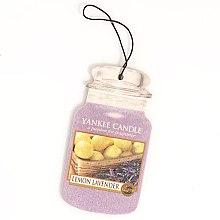 """Profumi e cosmetici Profumo per auto """"Limone e lavanda"""" - Yankee Candle Fluffy Lemon Lavender 2D Jar Classic"""