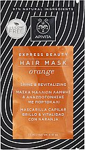 Profumi e cosmetici Maschera rigenerante all'arancia - Apivita Shine & Revitalizing Hair Mask With Orange