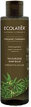 Profumi e cosmetici Balsamo volumizzante - Ecolatier Organic Cannabis Texturizing Hair Balm
