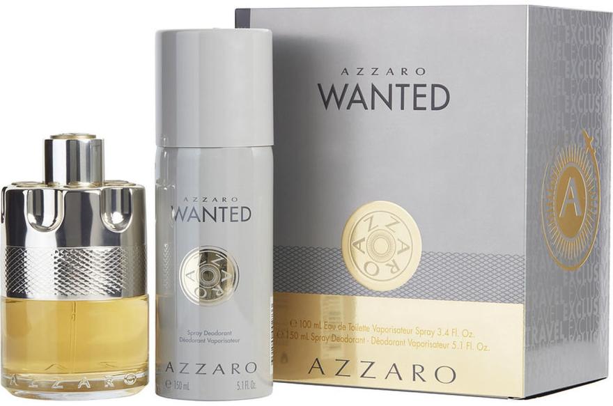 Azzaro Wanted - Set (edt/100ml + deo/150ml)