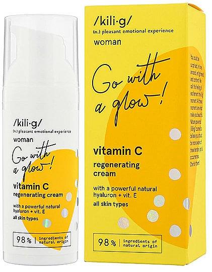 Crema viso rigenerante alla vitamina C - Kili·g Woman Vitamin C Regenerating Cream