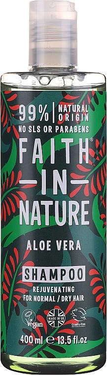 """Shampoo per capelli normali e grassi """"Aloe Vera"""" - Faith In Nature Aloe Vera Shampoo"""