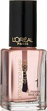 Profumi e cosmetici Primer unghie - L'Oreal Paris Extraordinaire Gel-Lacque Gel Primer 1