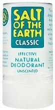 Profumi e cosmetici Deodorante-stck cristallo naturale - Salt of the Earth Crystal Classic Deodorant