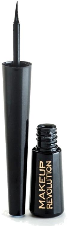 Eyeliner liquido - Makeup Revolution Liquid Eyeliner — foto N2