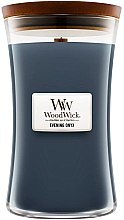 Profumi e cosmetici Candela profumata in bicchiere - WoodWick Hourglass Candle Evening Onyx