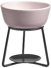 Profumi e cosmetici Lampada aromatica - Yankee Candle Grey Lilac Pebble Wax Melt Warmer