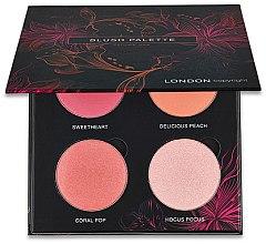 Profumi e cosmetici Palette blush - London Copyright Magnetic Face Powder Blush Palette