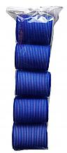 Profumi e cosmetici Bigodini in velcro 498788, 48 mm, blu - Inter-Vion