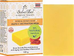 Profumi e cosmetici Sapone con estratto di miele - Sabai Thai Herbal Honey Soap