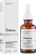 Profumi e cosmetici Siero schiarente a base di derivato della vitamina C stabilizzato - The Ordinary Ascorbyl Glucoside Solution 12%