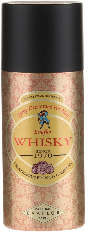 Evaflor Whisky - Deodorante