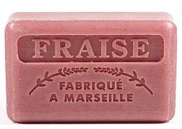 """Profumi e cosmetici Sapone di Marsiglia """"Fragola"""" - Foufour Savonnette Marseillaise Fraise"""