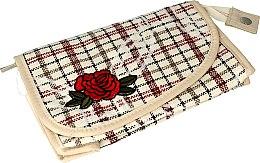 "Profumi e cosmetici Beauty case ""Rosa"", 95818, beige - Top Choice"