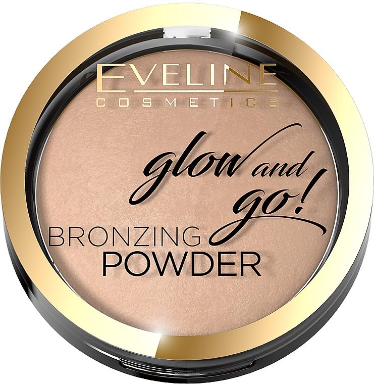 Cipria abbronzante - Eveline Cosmetics Glow & Go Bronzing Powder