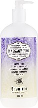 """Profumi e cosmetici Latte da massaggio """"Pina Colada"""" - Oranjito Massage Pro Pina Colada Massage Body Milk"""