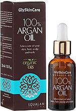 Profumi e cosmetici Olio di argan per il viso - GlySkinCare 100% Argan Oil