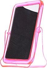 Profumi e cosmetici Specchio cosmetico quadrato, 5299, rosa - Top Choice