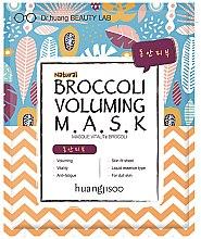 Profumi e cosmetici Maschera in tessuto rassodante - Huangjisoo Broccoli Voluming Mask