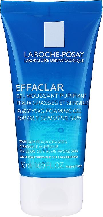 Gel-mousse detergente per pelli grasse e problematiche - La Roche-Posay Effaclar Gel Moussant Purifiant