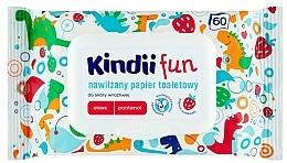 Profumi e cosmetici Salviette umidificate per bambini con estratto di aloe vera e pantenolo - Kindii Fun