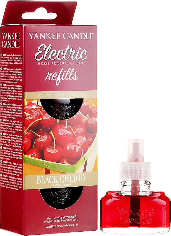 "Additivo aromatico ""Black Cherry"" - Yankee Candle — foto N1"