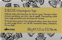 Profumi e cosmetici Shampoo capelli solido delicato - Davines Shampoo Bar