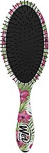 Profumi e cosmetici Pettine per capelli - Wet Brush Detangle Professional Pink Floral