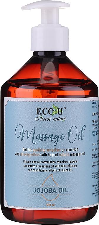 Olio per massaggi - Eco U Jojoba Massage Oil