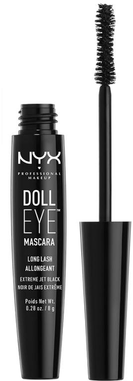 Extension Mascara - NYX Professional Makeup Doll Eye Mascara Long Lash — foto N2