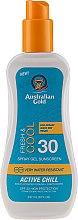Profumi e cosmetici Spray solare - Australian Gold Sunscreen Spf 30 X-Treme Sport Spray Gel Active