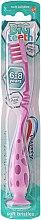 Profumi e cosmetici Spazzolino da denti per bambini, da 6 anni, rosa-lilla - Aquafresh