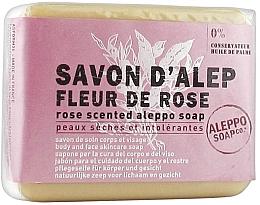 Profumi e cosmetici Sapone di Aleppo con aroma di rosa - Tade Aleppo Rose Flower Scented Soap