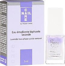 Profumi e cosmetici Rimedio bifase per rimozione cuticola - Peggy Sage Lavender Two-Phase Cuticle Remover