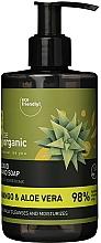 """Profumi e cosmetici Sapone liquido mani """"Mango e Aloe"""" - Be Organic Liquid Hand Soap Mango & Aloes"""