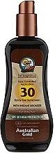 Profumi e cosmetici Spray-gel solare - Australian Gold Protetor Solar Gel Spray Bronzeador SPF30